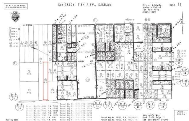 0 Crippen Avenue, Adelanto, CA 92301 (#TR20201419) :: Go Gabby