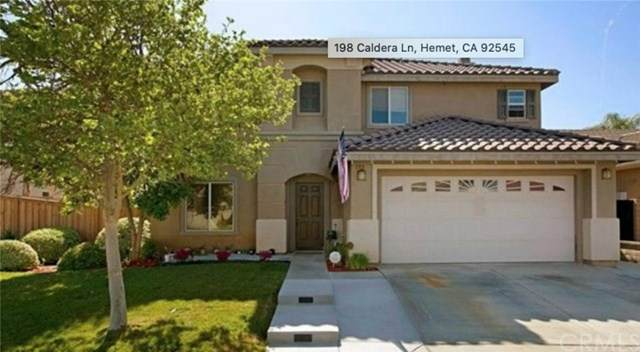 198 Caldera Lane, Hemet, CA 92545 (#WS20202601) :: Realty ONE Group Empire