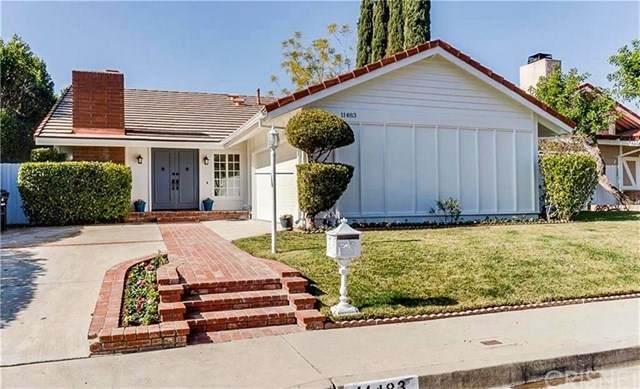 11483 Yolanda Avenue, Porter Ranch, CA 91326 (#SR20201775) :: The Najar Group