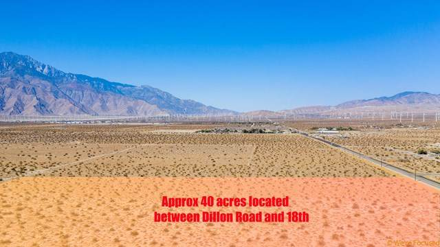 0 Dillion Rd Road, Desert Hot Springs, CA 92240 (#219050437DA) :: Cal American Realty