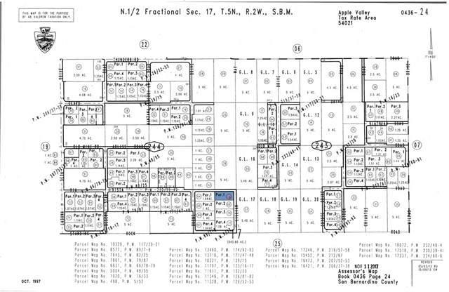 0 Lillian Way, Apple Valley, CA 92307 (MLS #CV20204219) :: Desert Area Homes For Sale
