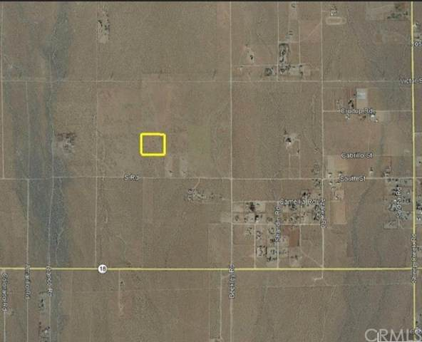 0 Woodard, Pinon Hills, CA 92372 (#CV20208478) :: Zutila, Inc.