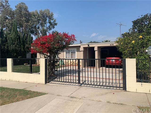 439 W 233rd Street, Carson, CA 90745 (#SB20210583) :: The Miller Group