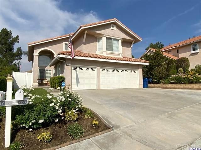 28723 Park Woodland Place, Saugus, CA 91390 (#320003684) :: Compass