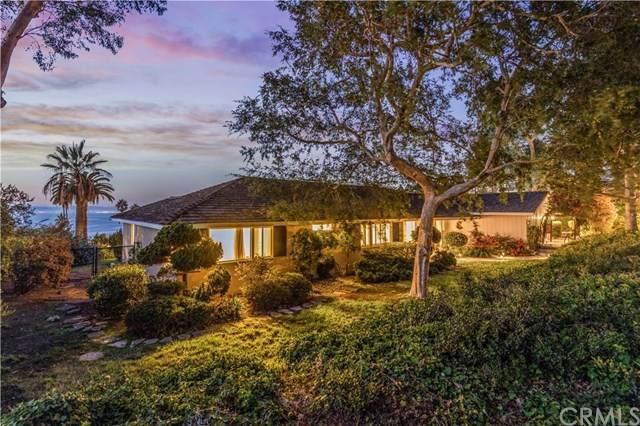 1505 Chelsea Road, Palos Verdes Estates, CA 90274 (#SB20208647) :: Millman Team
