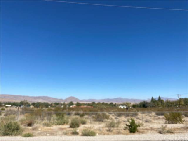 0 Foothill Road, Lucerne Valley, CA 92356 (#OC20220949) :: The Results Group