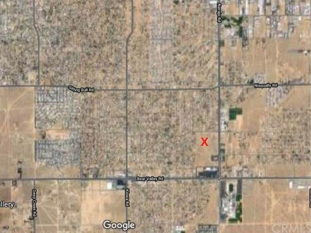 0 Okanagan Rd, Apple Valley, CA 92308 (#OC20221903) :: The Miller Group