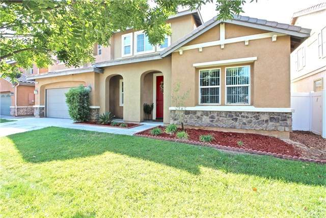 3042 Bradley Road, Perris, CA 92571 (#SW20223874) :: The DeBonis Team