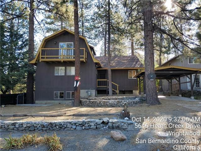 5645 Heath Creek Road, Wrightwood, CA 92397 (#MB20223528) :: Steele Canyon Realty