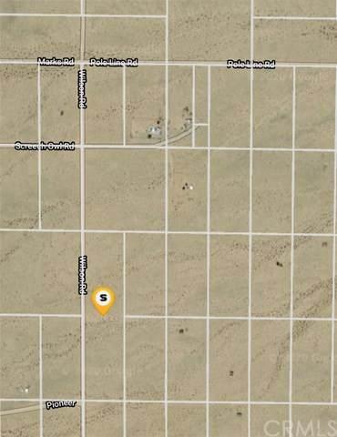 0 Wilson Road, 29 Palms, CA 92277 (#CV20224777) :: RE/MAX Masters