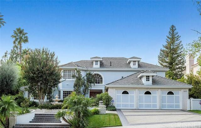5257 Newcastle Lane, Calabasas, CA 91302 (#SR20224962) :: The Results Group