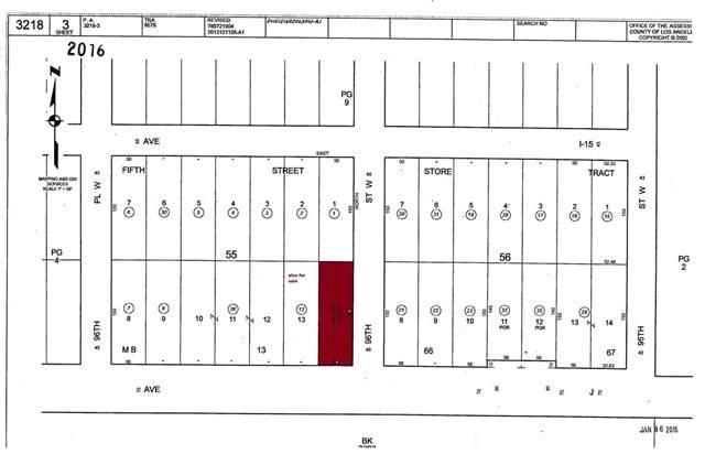 1 Vac/Cor Avenue J/96 Stw Nog, Del Sur, CA 93536 (#CV20226748) :: Team Foote at Compass