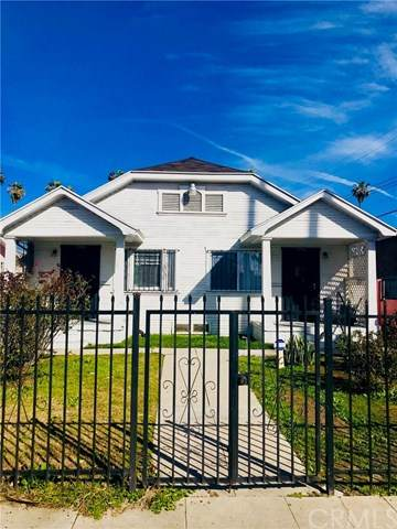 5742 S Wilton Place, Los Angeles (City), CA 90062 (#PW20226186) :: Team Tami
