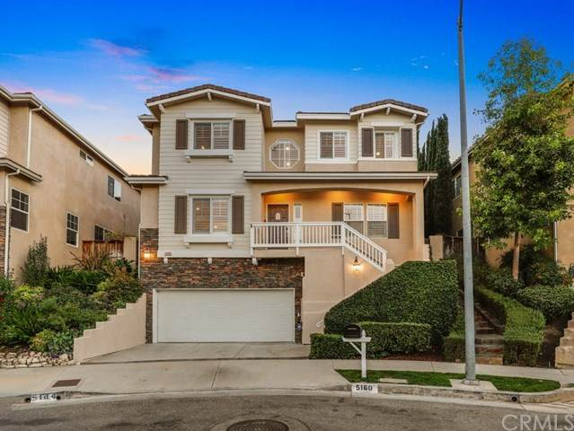 5160 Knollwood Way, Woodland Hills, CA 91364 (#BB20228540) :: The Miller Group