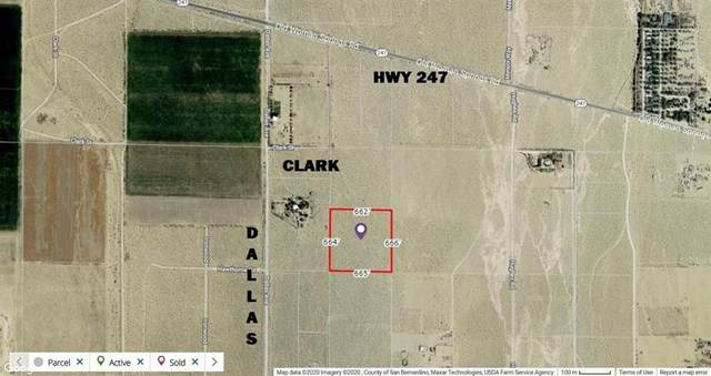 0 Dallas (Near) Avenue, Lucerne Valley, CA 92356 (#529576) :: The Houston Team   Compass