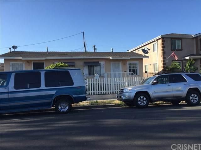309 E 65th Street, Los Angeles (City), CA 90003 (#SR20228999) :: Veronica Encinas Team