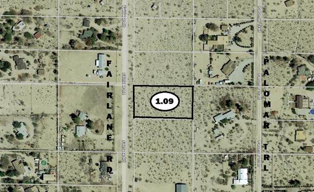 0 Fairlane Road, Lucerne Valley, CA 92356 (#529599) :: Doherty Real Estate Group