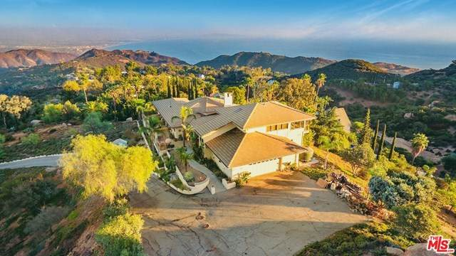 21995 Saddle Peak Road, Topanga, CA 90290 (#20655680) :: American Real Estate List & Sell