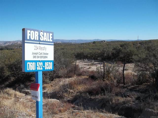 38803 Highway 94, Boulevard, CA 91905 (#PTP2001450) :: Steele Canyon Realty