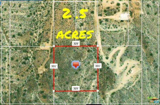 0 Piute Trail, Yucca Valley, CA 92284 (#20660020) :: Z Team OC Real Estate