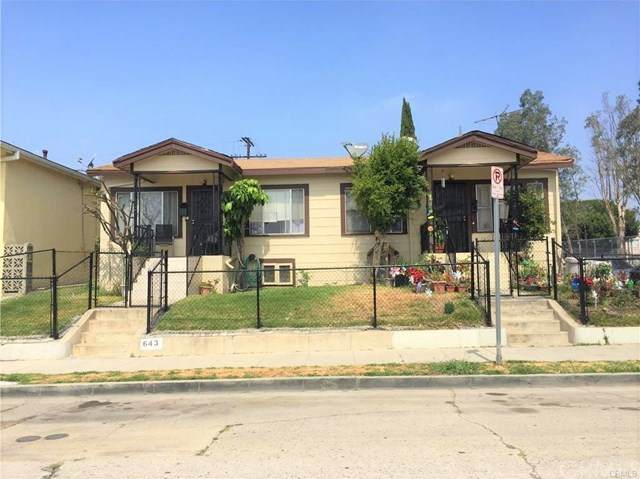 641 Penrith Drive, Los Angeles (City), CA 90023 (#PW20241324) :: The Costantino Group | Cal American Homes and Realty