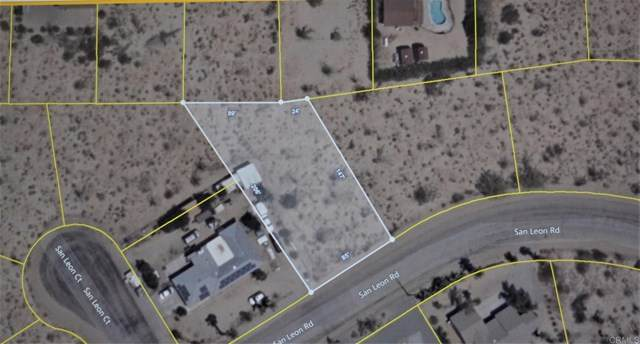 San Leon Rd Lot 66, Borrego Springs, CA 92004 (#NDP2002741) :: The Costantino Group | Cal American Homes and Realty