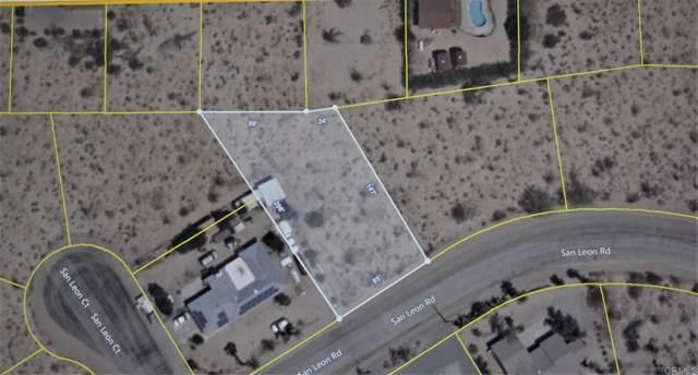 San Leon Rd Lot 66, Borrego Springs, CA 92004 (#NDP2002741) :: Steele Canyon Realty