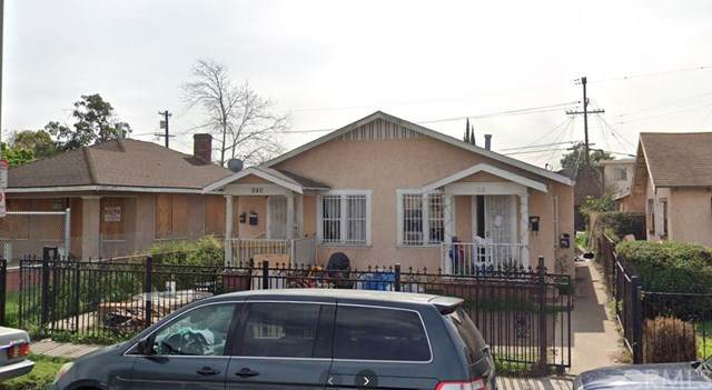 940 W 75th Street, Los Angeles (City), CA 90044 (#DW20243255) :: RE/MAX Masters