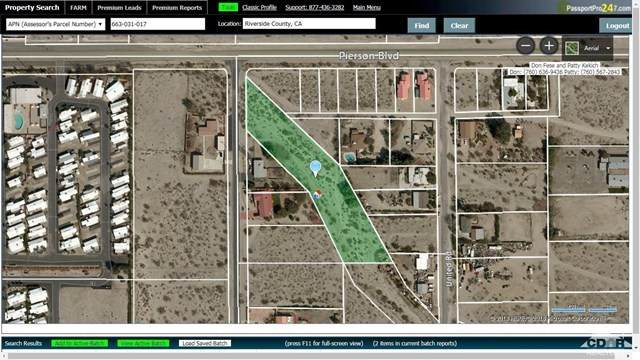 0 Dave Ave, Desert Hot Springs, CA 92240 (#219053554DA) :: Z Team OC Real Estate