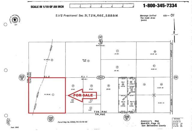 0 Warren, Yucca Valley, CA 92284 (#OC20246058) :: Zutila, Inc.