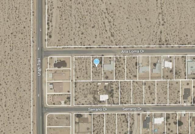 121 Alta Loma Avenue, 29 Palms, CA 92277 (#219053636PS) :: Powerhouse Real Estate