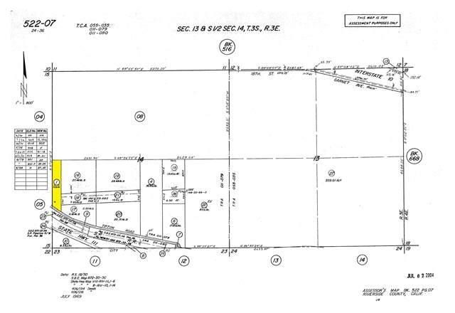 0 Tipton Road, 331 - North End Palm Springs, CA 92282 (#219053667DA) :: Provident Real Estate