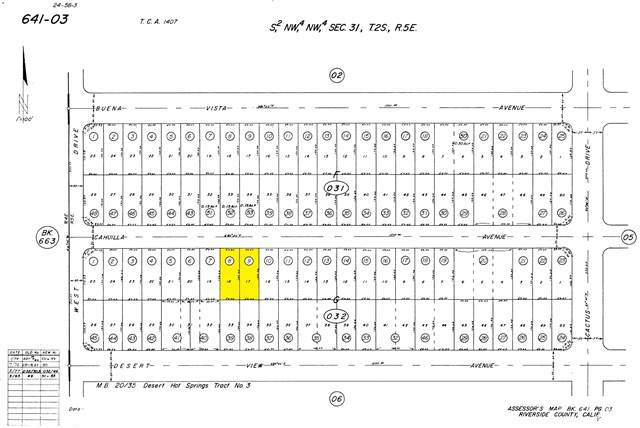 0 Cahuilla Avenue, Desert Hot Springs, CA 92240 (#219053665DA) :: Provident Real Estate