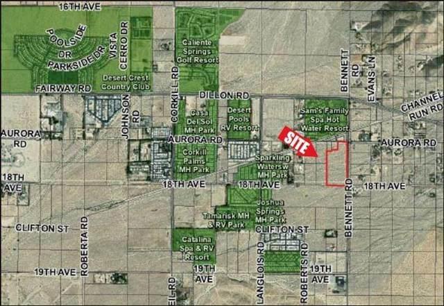 0 W Bennett Rd/S Dillon Rd, Sky Valley, CA 92241 (#219053689DA) :: Provident Real Estate