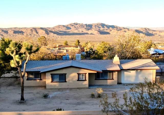 60618 Pueblo Trail, Joshua Tree, CA 92252 (#219053781PS) :: The Laffins Real Estate Team