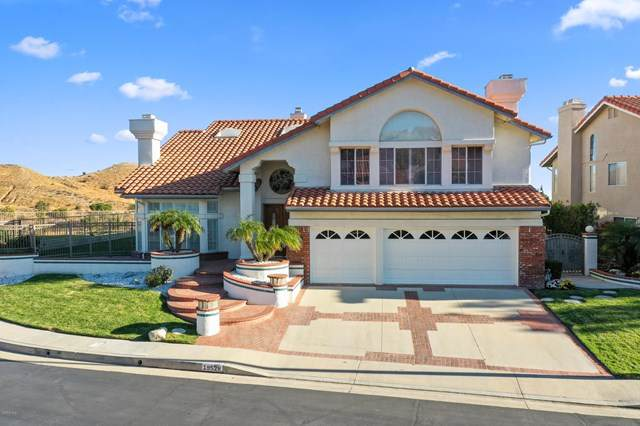 19528 Shadow Ridge Way, Porter Ranch, CA 91326 (#220011182) :: Steele Canyon Realty