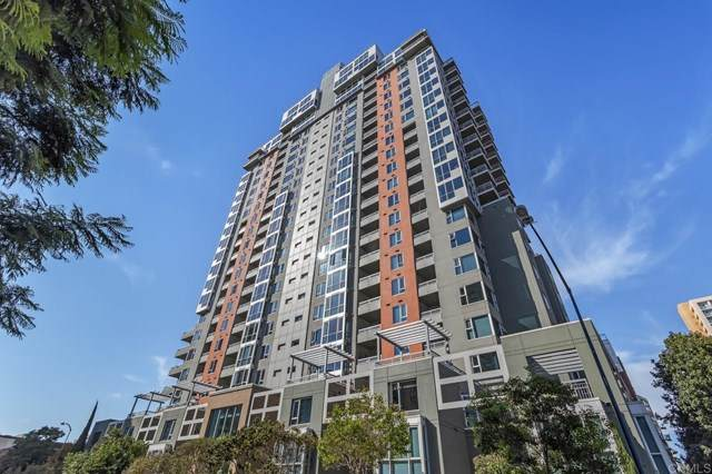 300 W Beech Street #604, San Diego, CA 92101 (#NDP2003198) :: American Real Estate List & Sell