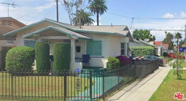 1601 W 71St Street, Los Angeles (City), CA 90047 (#20666820) :: Rogers Realty Group/Berkshire Hathaway HomeServices California Properties