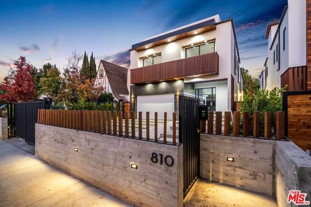 810 N Spaulding Avenue, Los Angeles (City), CA 90046 (#20665464) :: Rogers Realty Group/Berkshire Hathaway HomeServices California Properties