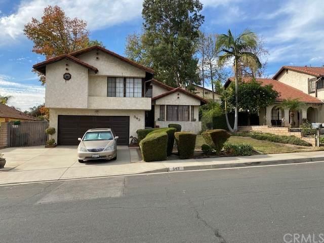 543 Woodbluff Street, Duarte, CA 91010 (#CV20257973) :: The Alvarado Brothers