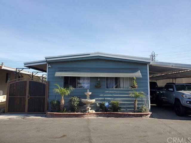 16600 Orange Avenue #63, Paramount, CA 90723 (#DW20258661) :: The Marelly Group | Sentry Residential