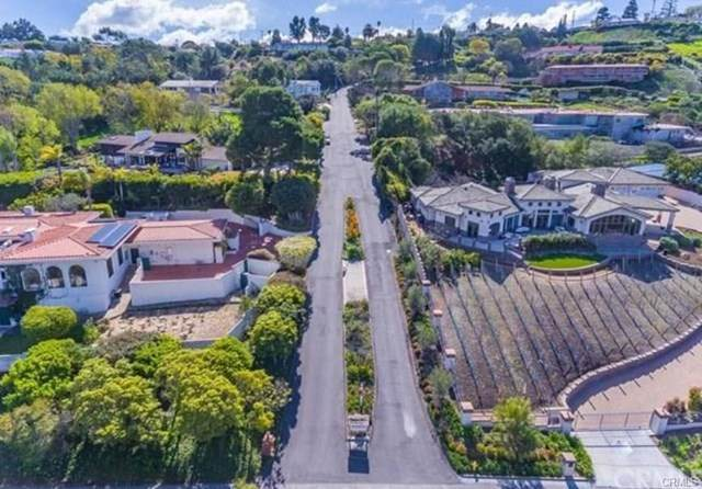 0 Via Campesina, Rancho Palos Verdes, CA 90275 (#TR21000393) :: Wendy Rich-Soto and Associates
