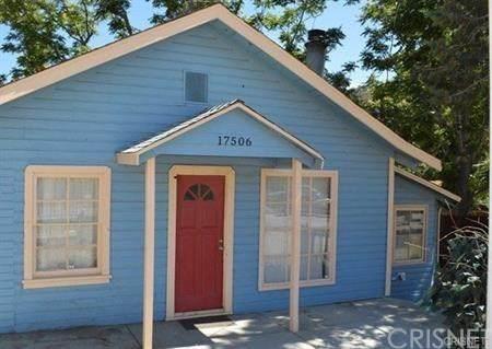 17506 Elizabeth Lake Road, Lake Hughes, CA 93532 (#SR21001228) :: Compass