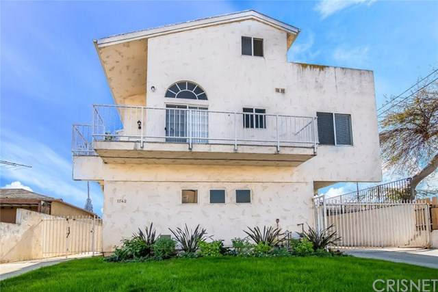 1742 W 149th Street #1, Gardena, CA 90247 (#SR21002052) :: The Results Group