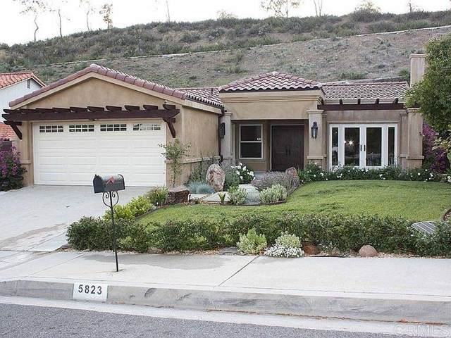 5823 Cardoza Drive, Westlake Village, CA 91362 (#PTP2100116) :: The DeBonis Team