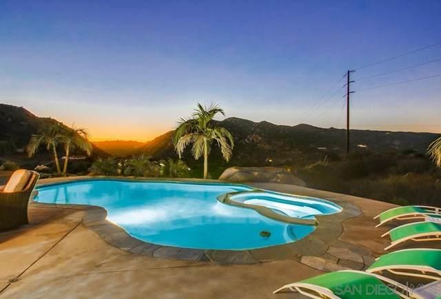 570 N N Alpine Trail Rd, Alpine, CA 91901 (#210000349) :: American Real Estate List & Sell
