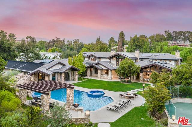5824 Jed Smith Road, Hidden Hills, CA 91302 (#21677864) :: American Real Estate List & Sell