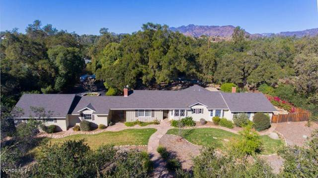 802 El Toro Road, Ojai, CA 93023 (#V1-3318) :: Legacy 15 Real Estate Brokers