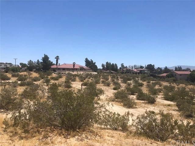 0 Monte Verde Road, Apple Valley, CA 92307 (#TR21006024) :: Z Team OC Real Estate