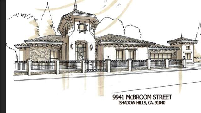 9941 Mcbroom Street, Shadow Hills, CA 91040 (#BB21003805) :: The Brad Korb Real Estate Group